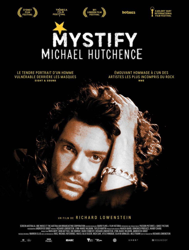 Mistify Michael Hutchence, affiche du documentaire sur INXS