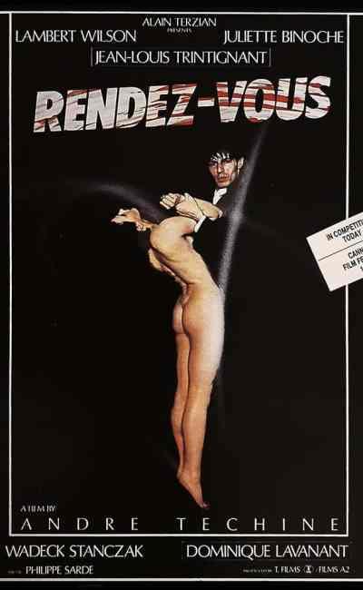 Pré-affiche Cannes de Rendez-Vous de Téchiné