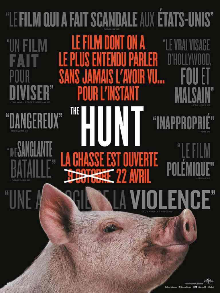 The Hunt: affiche de la production Blumhouse