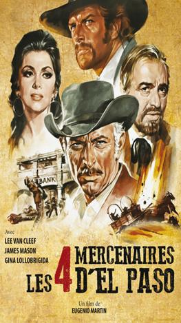 Les quatre mercenaires d'El Paso affiche