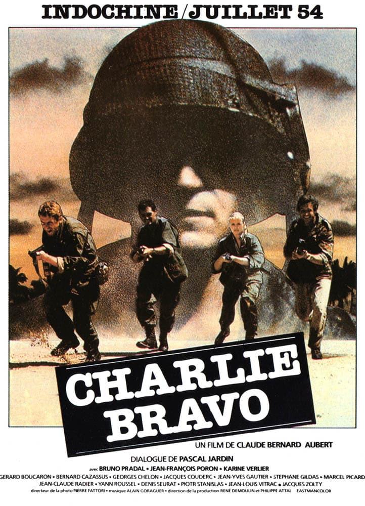 Charlie Bravo de Claude Bernard-Aubert, affiche de Landi