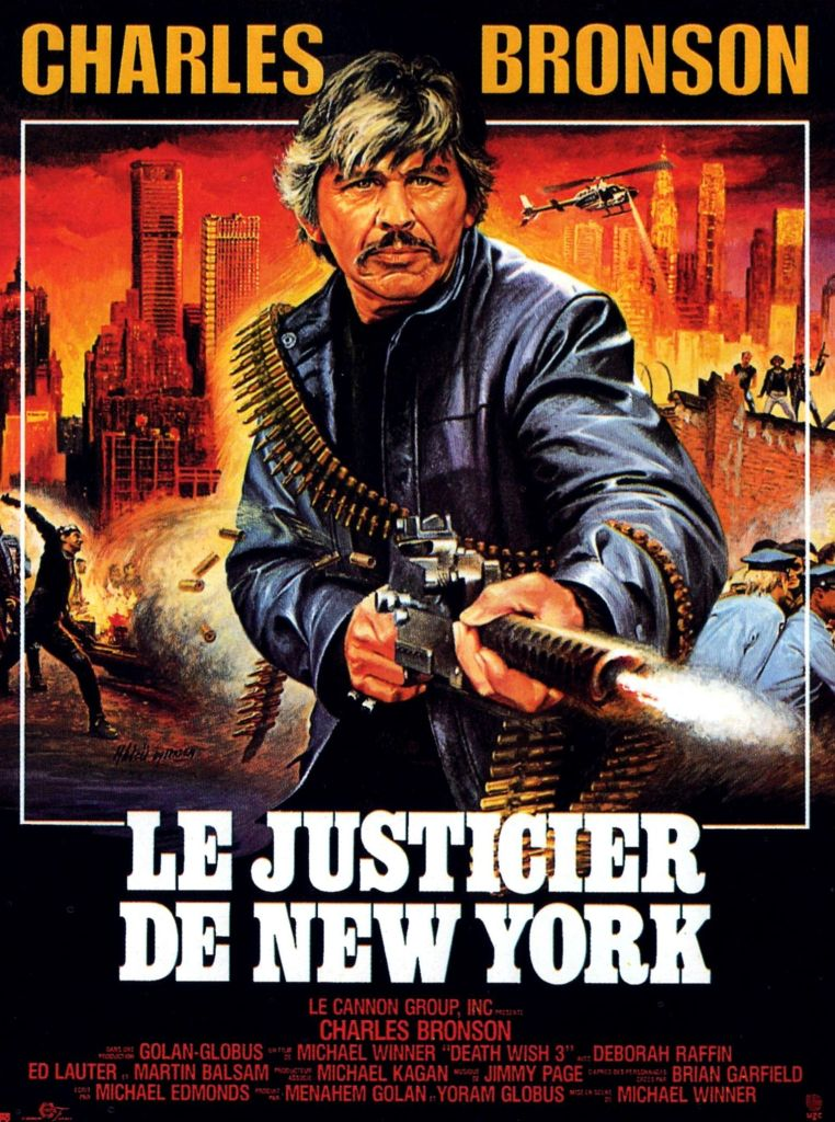 Le justicier de New York (Death Wish 3), affiche originale de Jean Mascii