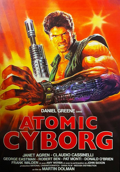Atomic Cyborg, affiche française, french poster (Hands of steel)