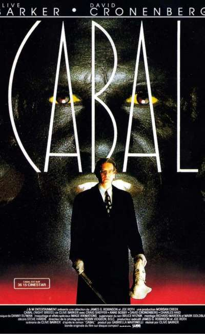 Cabal, l'affiche du Clive Barker