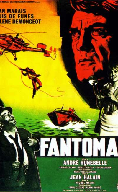Fantomas, l'affiche