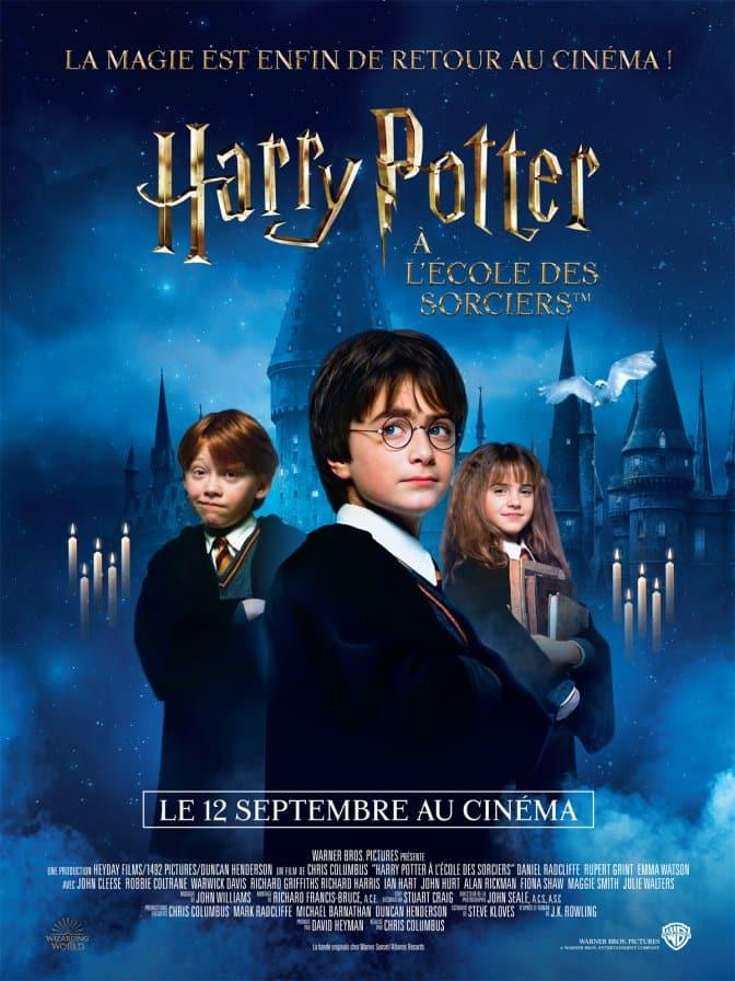 Harry Potter à l'école des sorcières, affiche reprise