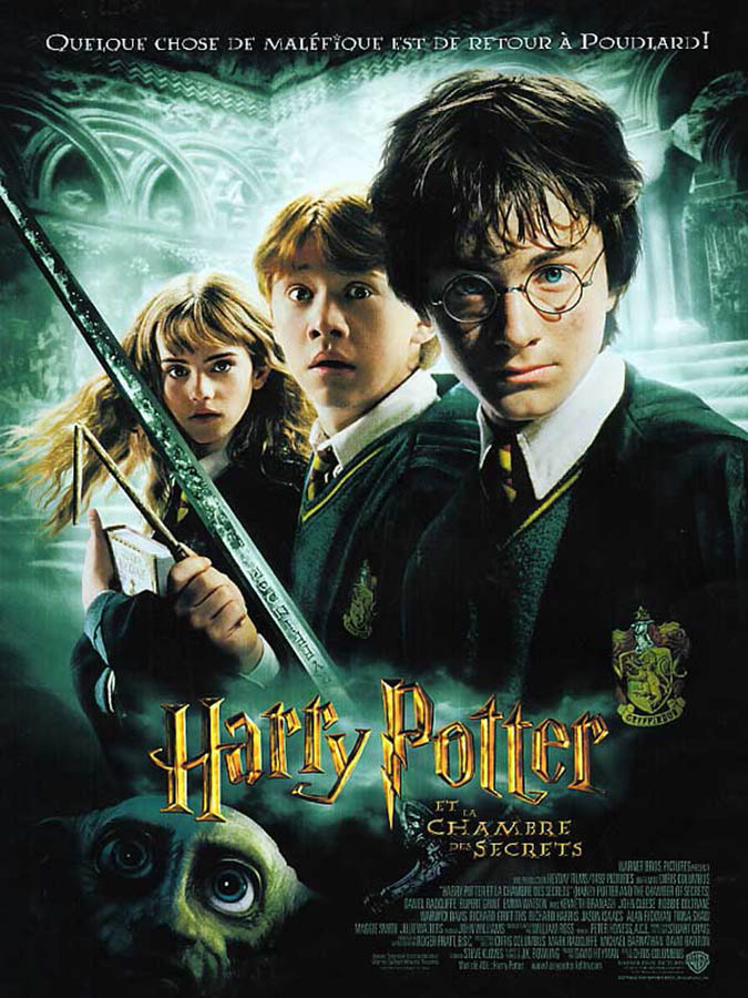 Harry Potter et la Chambre des secrets, affiche