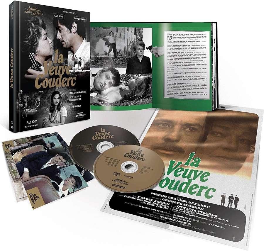 La veuve Couderc, mediabook