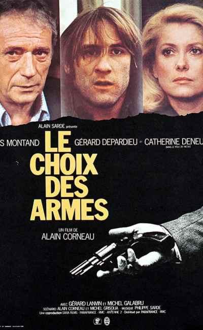 Le choix des armes, affiche de Ferracci