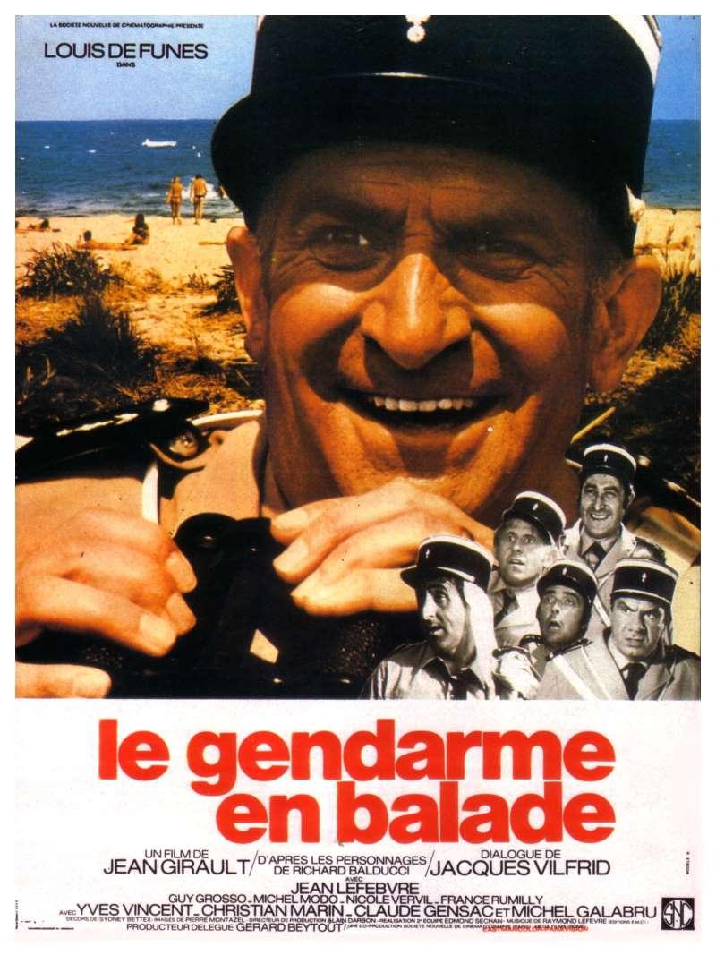 Le gendarme en balade, l'affiche
