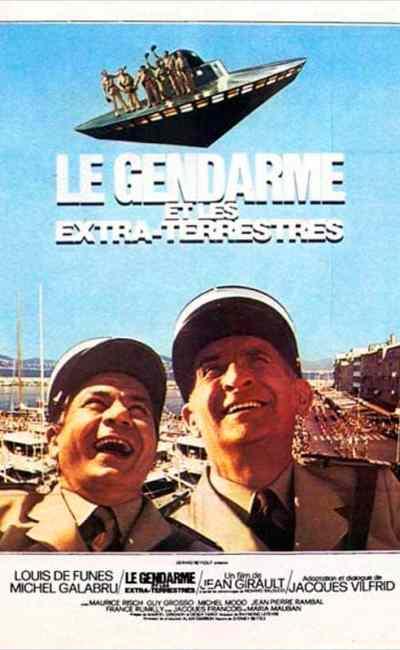 Le gendarme et les extra-terrestres, l'affiche