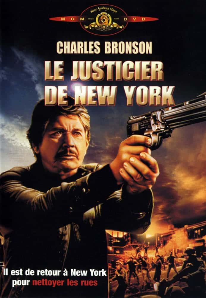 Le justicier de new-york, cover DVD