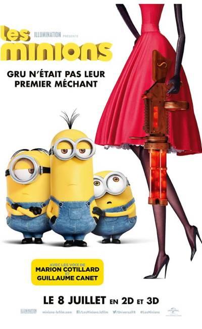 Les Minions, affiche définitive du film de Pierre Coffin