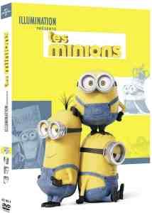 Les Minions cover réédition DVD