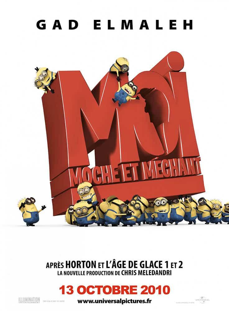 Moi Moche et Méchant (Dispacable Me 1), affiche