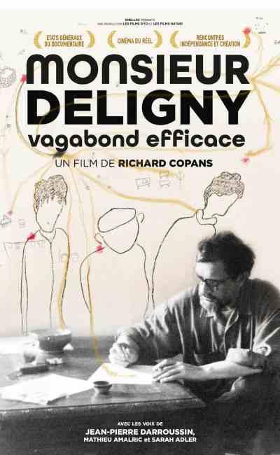 Monsieur Deligny, vagabond efficace, affiche de Richard Compans