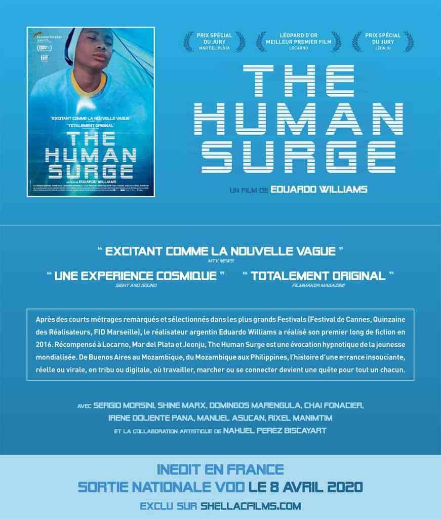 The Human Surge de Eduardo Williams, fiche promotionnelle