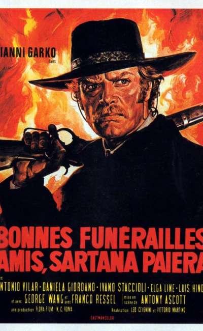 Bonnes funérailles, amis, Sartana paiera, l'affiche
