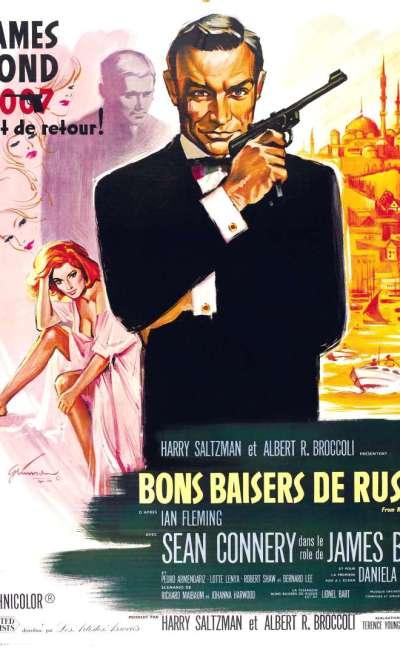 Bons baisers de Russie, l'affiche