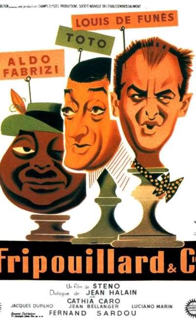 Fripouillard et Cie, l'affiche