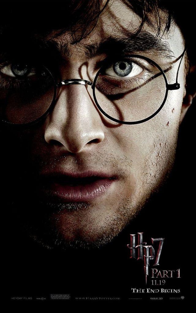 Harry Potter et les reliques de la mort partie 1, teaser portrait Radcliffe