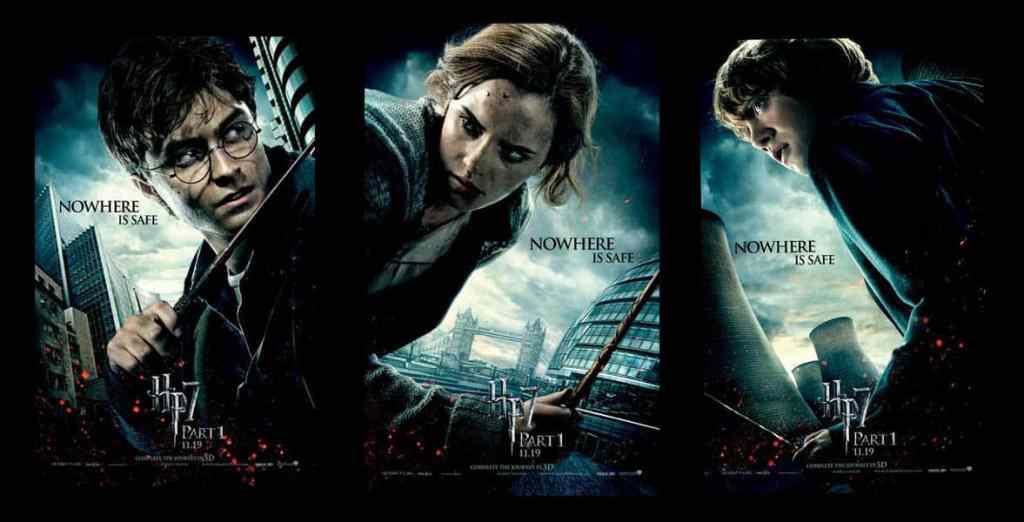 Harry Potter et les reliques de la mort partie 1 : les affiches personnages