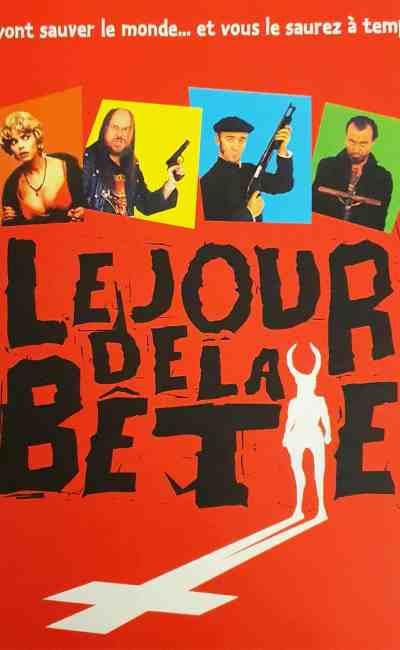Le jour de la Bête (el dia de la bestia), affiche sans crédit, France