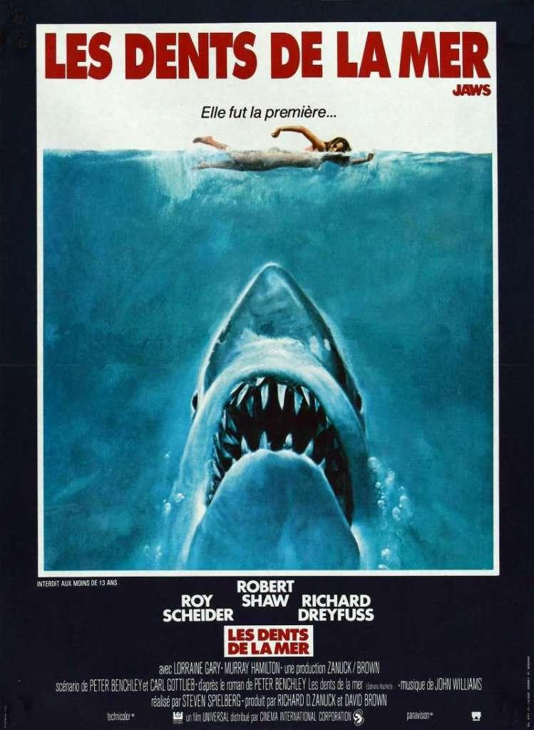 Les dents de la mer, l'affiche