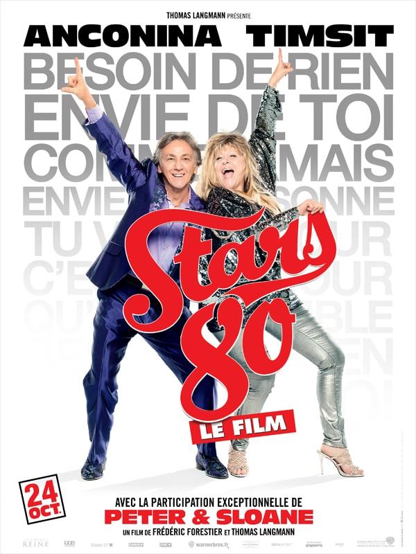 Stars 80 le film, affiche personnage de Peter & Sloane