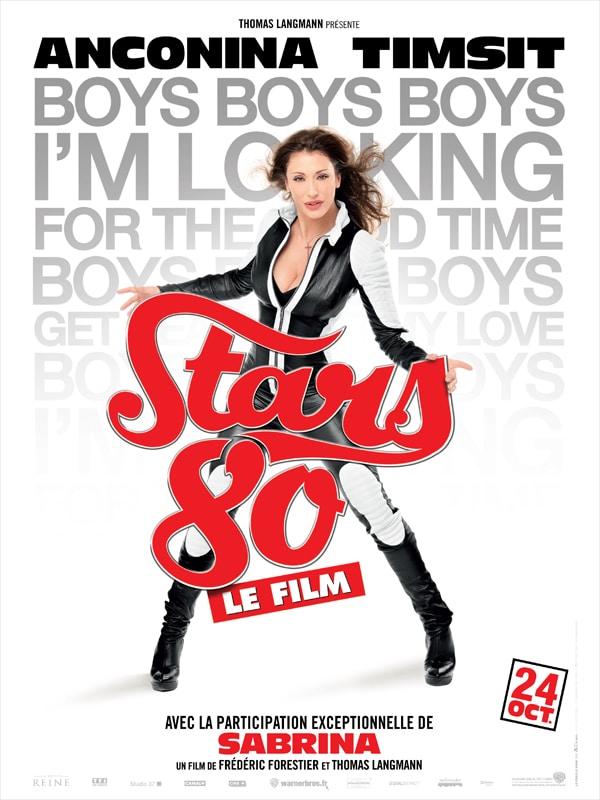 Stars 80 le film, affiche personnage de Sabrina