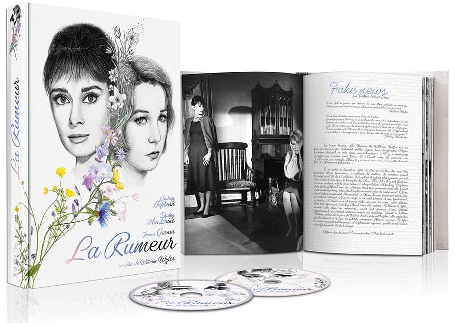 Scénographie du blu-ray-dvd collector de La Rumeur de Wild Side