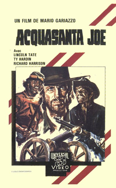 Acquasanta Joe de Mario Gariazzo VHS cover bandeau