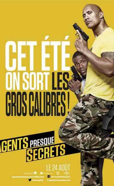 Agents presque secrets : affiche française