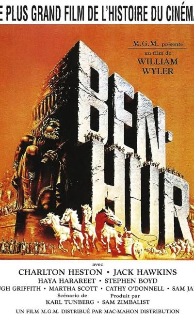 Ben Hur, affiche du film (1960)