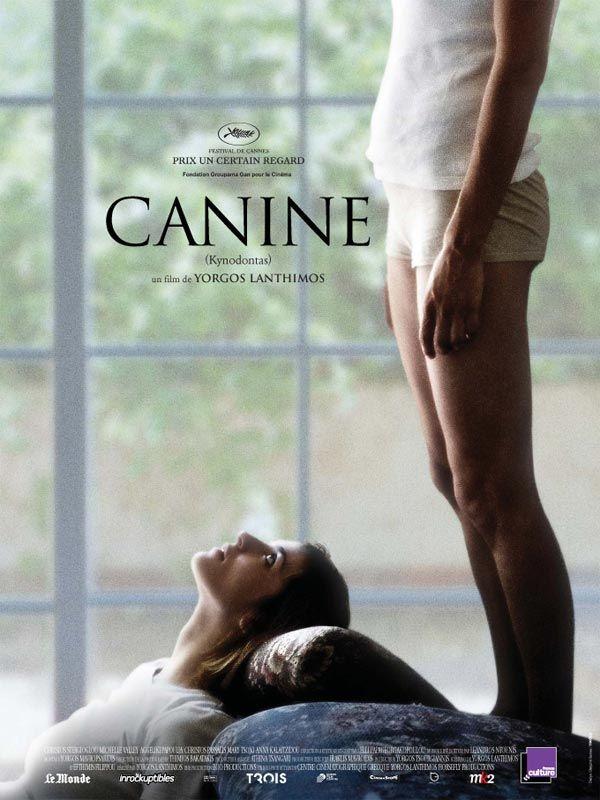 Canine, affiche du film de Yorgos Lanthimos