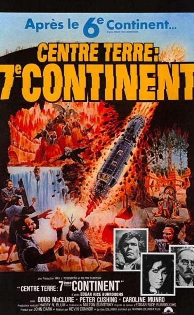 Centre Terre, septième continent, l'affiche