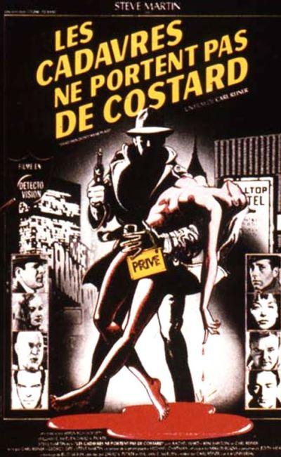 Affiche française de Les cadavres ne portent pas de costard de Carl Reiner