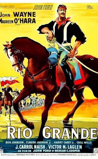 Rio Grande, l'affiche