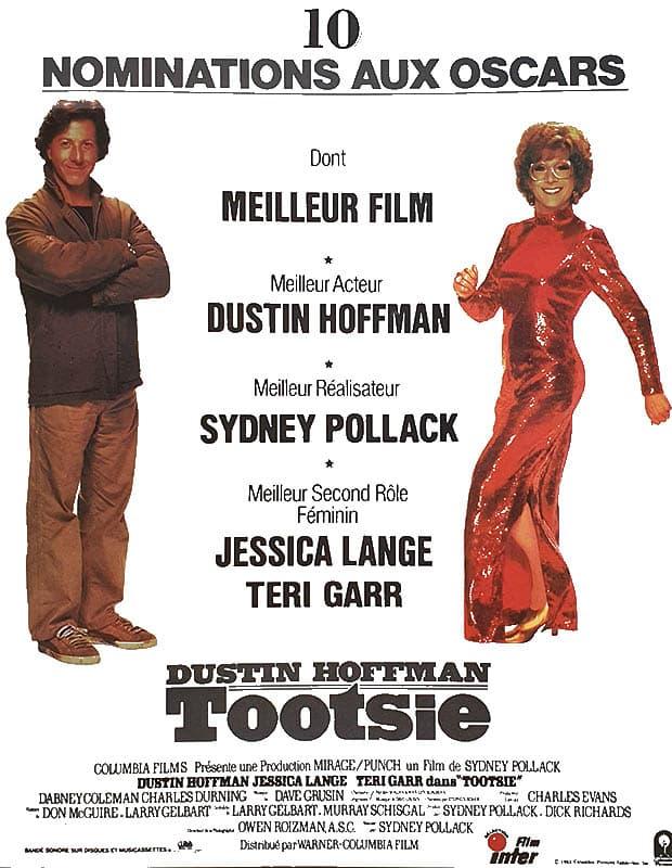 Tootsie, affiche Oscars 1983