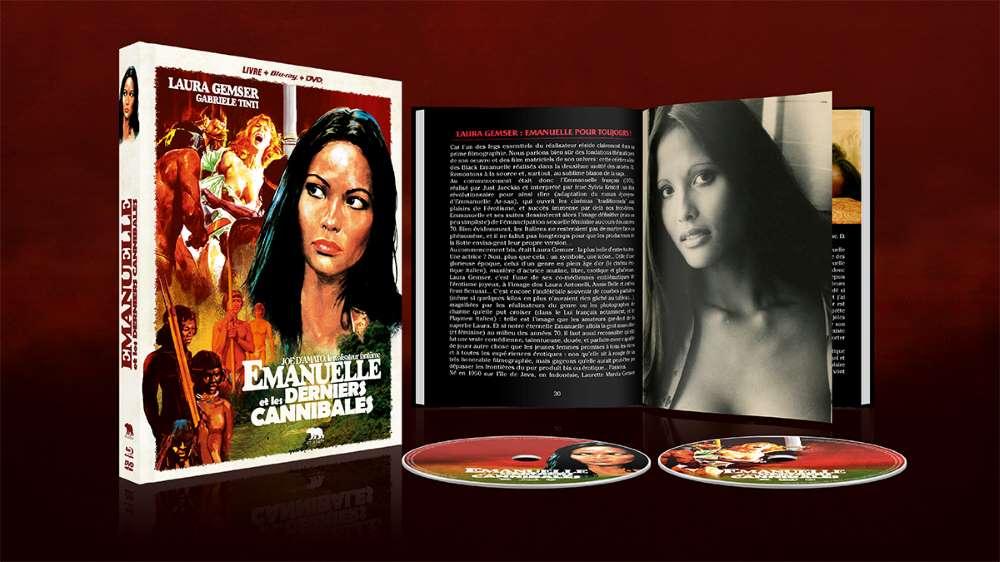 Emanuelle et les derniers cannibales, le mediabook
