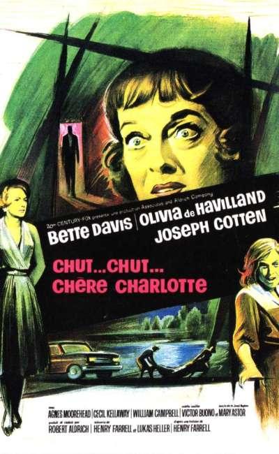 Chut, chut, chère Charlotte, l'affiche