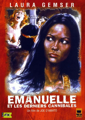 Jaquette d'Emanuelle et les derniers cannibales, Neo Publishing