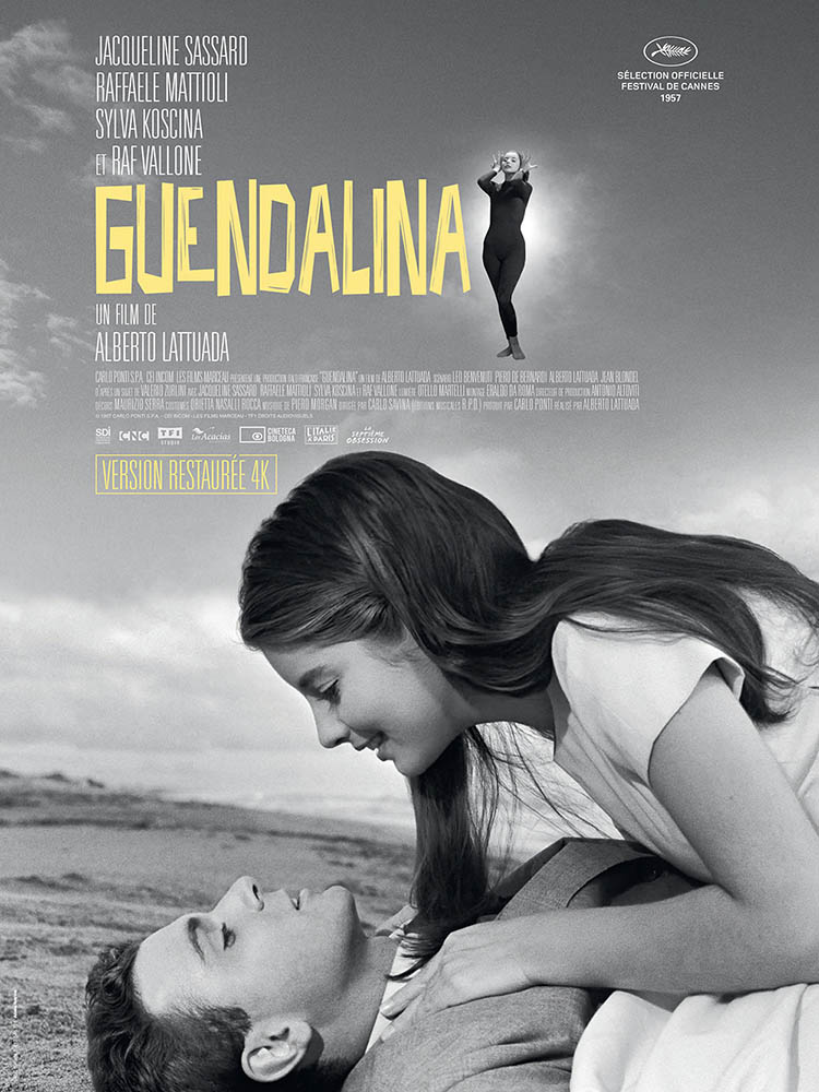 Affiche de Guendalina d'Alberto Lattuada, reprise 2020