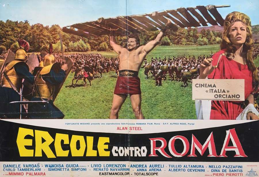 Hercule contre Rome, photo d'exploitation 1