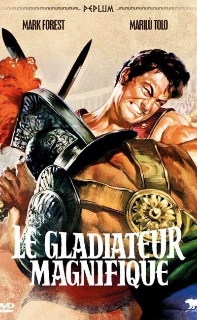 Le gladiateur magnifique, la jaquette DVD
