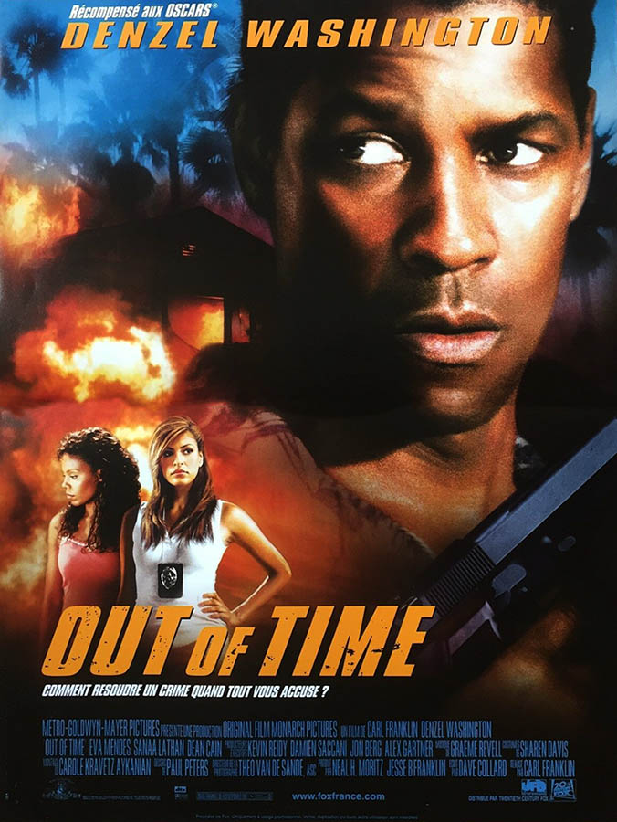 Out of Time, affiche France (2004)