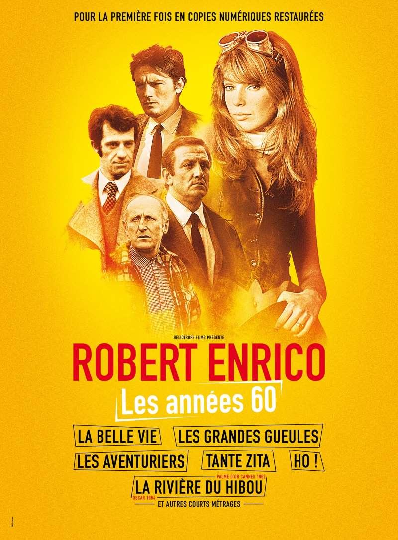 Robert Enrico, les années 60, l'affiche