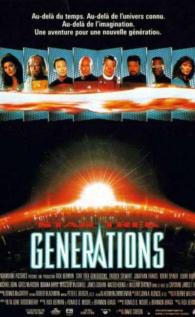 Star Trek : générations, l'affiche