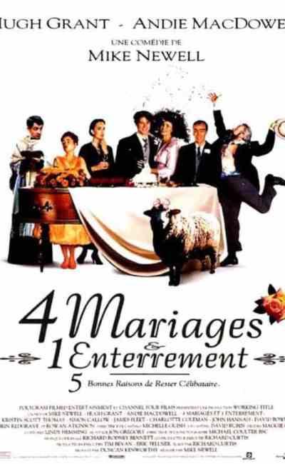 4 mariages et un enterrement de Mike Newell