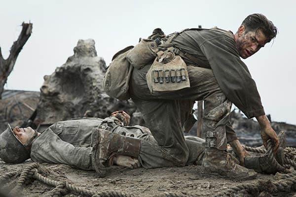 Andrew Garfield dans Tu ne tueras point, de Mel Gibson